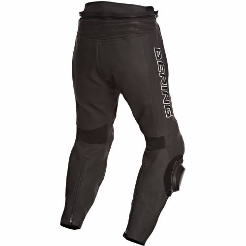 Pantaloni Moto din Piele & Textil BERING SLIDE-R · Negru