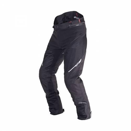 Pantaloni Moto din Textil SIXGEAR DRAKE · Negru