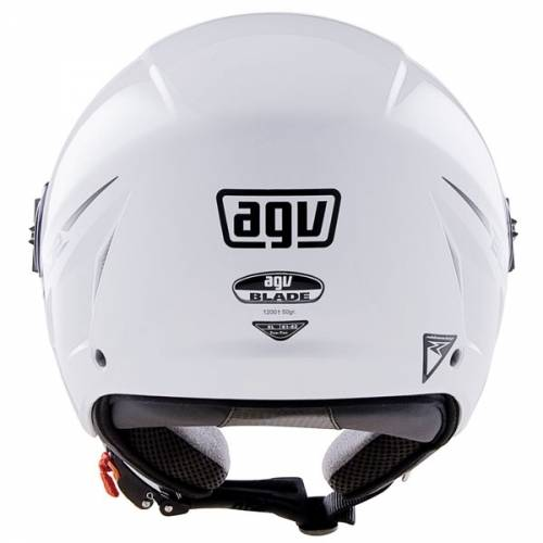 Cască Moto Open Face AGV Blade · Alb Mat