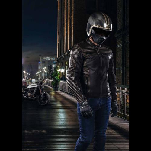 Cască Moto Open Face SHARK S-DRAK VINTA · Negru / Auriu