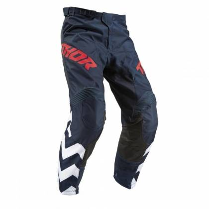 Pantaloni THOR PULSE STUNNER S9 Midnigth - Albastru/Alb