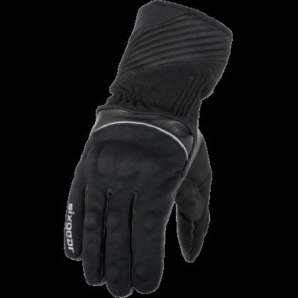 Mănuși Moto din Piele & Textil SIXGEAR HUSKY