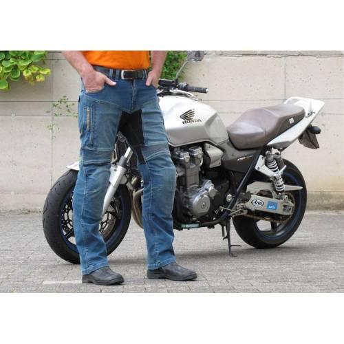 Blugi Moto TRILOBITE PARADO LONG · Albastru
