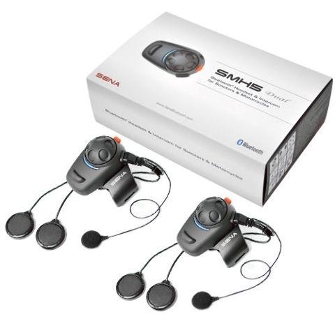 Sistem de Comunicație Bluetooth SENA SMH5 Dual Universal Microphone Kit