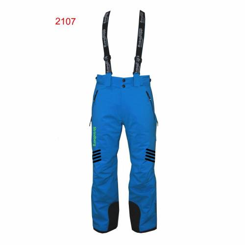 Pantaloni Outdoor / Schi STRINDBERG 2107 DB, Dermizax · Albastru / Negru