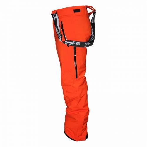 Pantaloni Outdoor / Schi STRINDBERG 2092CH, Dermizax · Portocaliu / Negru