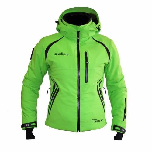 Geacă Outdoor / Schi Damă STRINDBERG 5069, Dermizax · Verde-Fluo / Negru