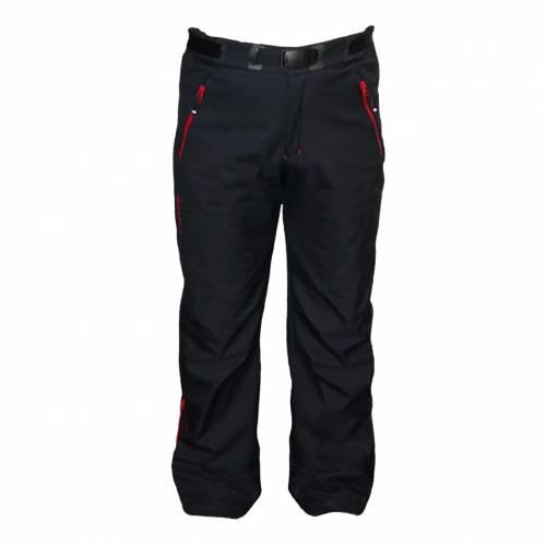 Pantaloni Softshell Outdoor / Schi STRINDBERG 2101, Toraydelfy · Negru / Roșu