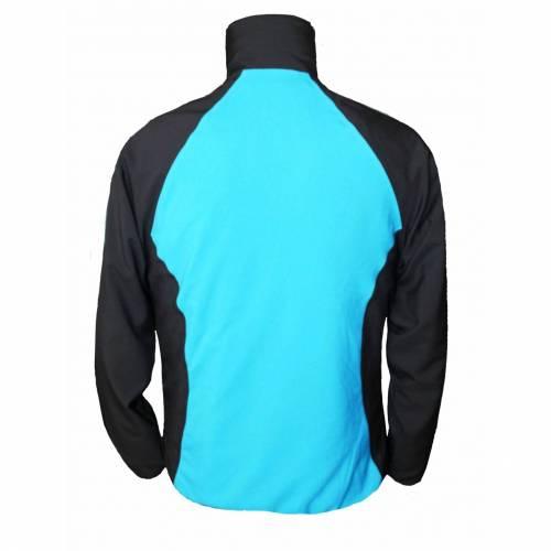 Bluză Trening STRINDBERG 2108/8 · Albastru / Negru