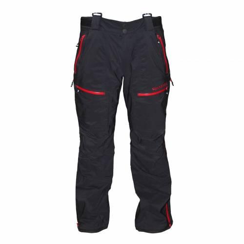Pantaloni Outdoor / Schi STRINDBERG 2140/3D, Dermizax · Negru / Roșu