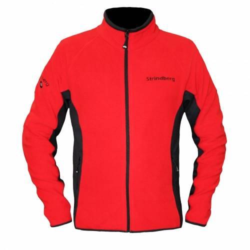 Bluză Polar STRINDBERG 2153 · Negru / Roșu