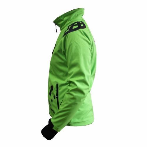 Geacă Softshell Damă STRINDBERG 5062 · Verde / Negru