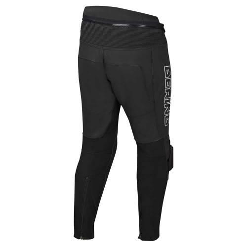 Pantaloni Moto din Piele & Textil BERING TYPE-R · Negru