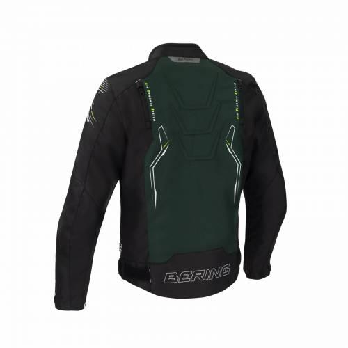Geacă Moto din Textil BERING TIBERIUS · Negru / Kaki