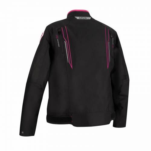 Geacă Moto Damă din Textil BERING LADY GUARDIAN · Negru / Roz