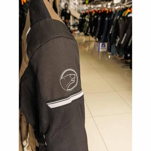 Geacă Moto din Textil BERING BRONKO · Negru / Maro