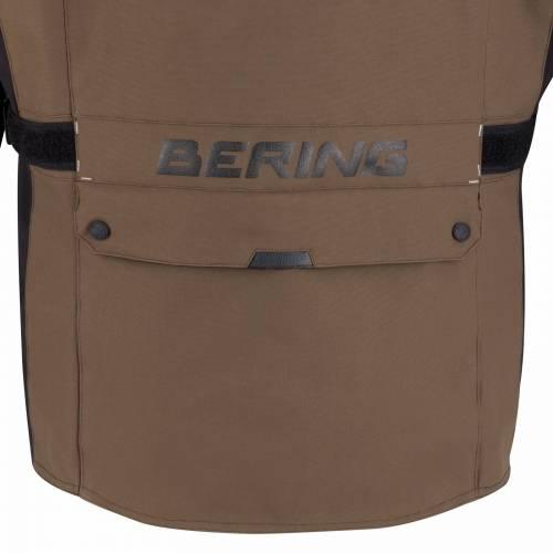 Geacă Moto din Textil BERING BRONCO · Negru / Gri / Maro