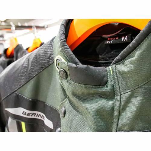 Geacă Moto din Textil BERING DARKO · Kaki / Negru