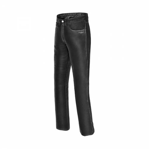Pantaloni Moto din Piele SPEED UP RANGER · Negru