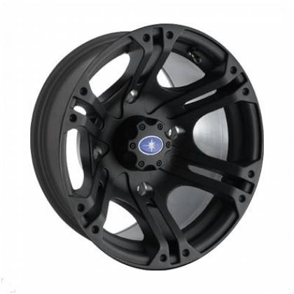 Polaris Ranger SIXR 14x7 Flat Black Rim OEM 1521507-521 Faca