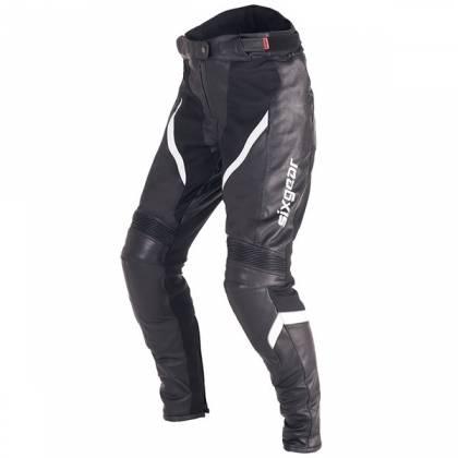 Pantaloni Moto Damă din Piele & Textil SIXGEAR ARIEL