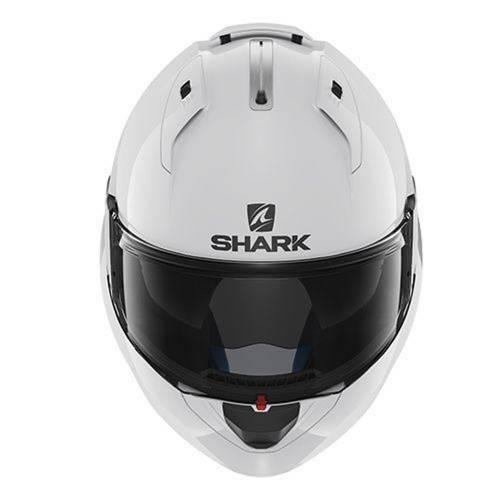 Cască Moto Modulară SHARK EVO-ONE 2 BLANK · Alb
