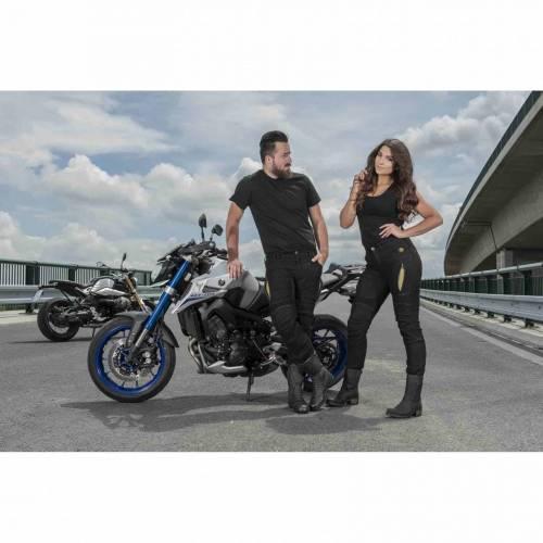 Blugi Moto TRILOBITE PARADO LONG · Negru