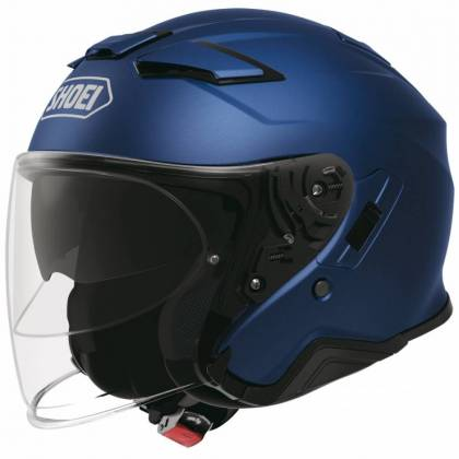Casca Moto Open Face SHOEI J-CRUISE II Matt Blue Metallic ...