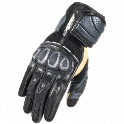 Mănuși Moto din Piele Perforată & Textil SIXGEAR SPYDAIR