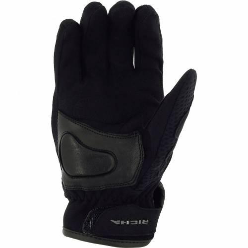 Mănuși Moto din Piele & Textil RICHA BASALT 2 · Negru