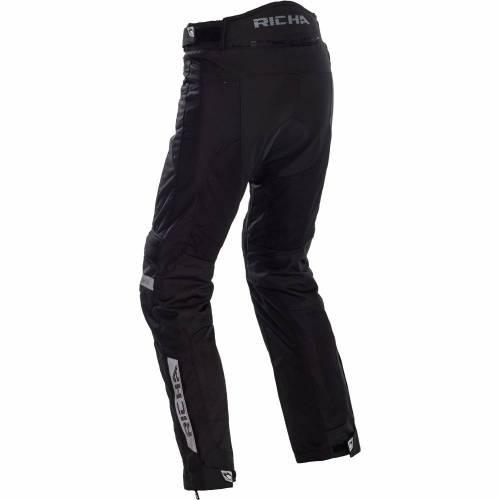 Pantaloni Moto Damă din Textil RICHA AIRVENT EVO · Negru