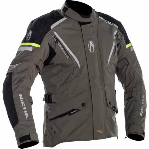Geacă Moto din Textil RICHA CYCLONE GORE-TEX · Titanium