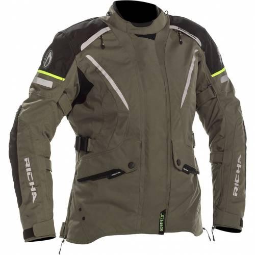 Geacă Moto Damă din Textil RICHA CYCLONE GORE-TEX · Titanium