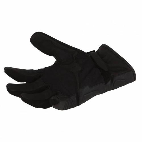Mănuși Moto din Piele & Textil BERING MATCH · Negru
