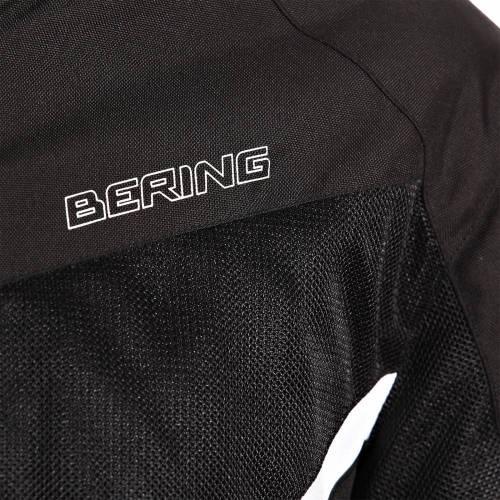 Geacă Moto din Textil BERING FLORIDA · Negru / Alb