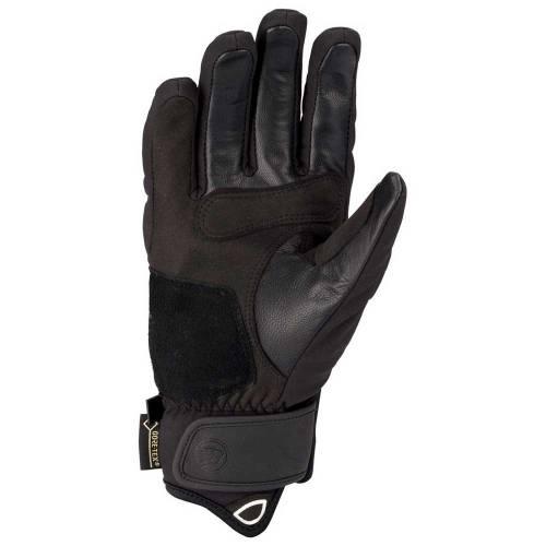 Mănuși Moto din Piele & Textil BERING EKSEL · Negru