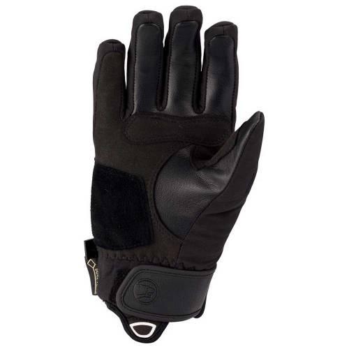 Mănuși Moto Damă din Piele & Textil BERING LADY EKSEL · Negru