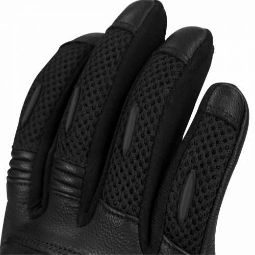Mănuși Moto Damă  din Piele & Textil BERING LADY KX-ONE · Negru