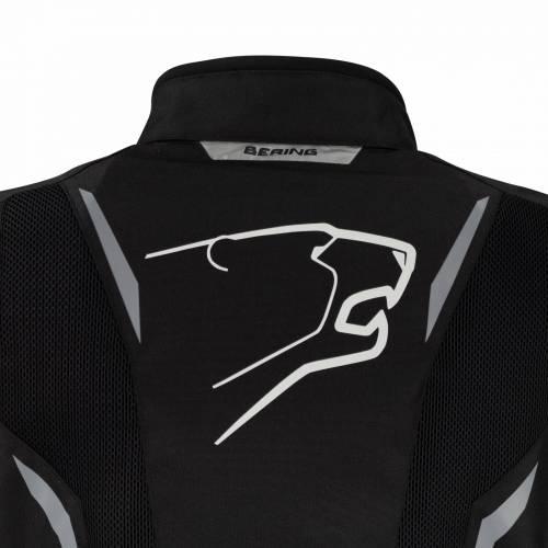 Geacă Moto din Textil BERING MISTRAL · Negru