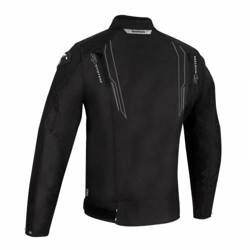 Geacă Moto din Textil BERING GUARDIAN · Negru / Alb / Gri
