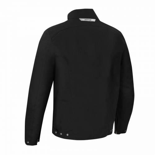 Geacă Moto din Textil BERING Zander · Negru