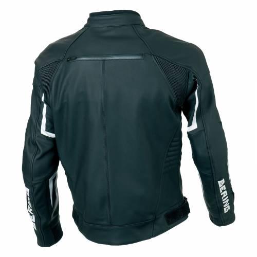 Geacă Moto din Piele & Textil BERING LYNX · Negru