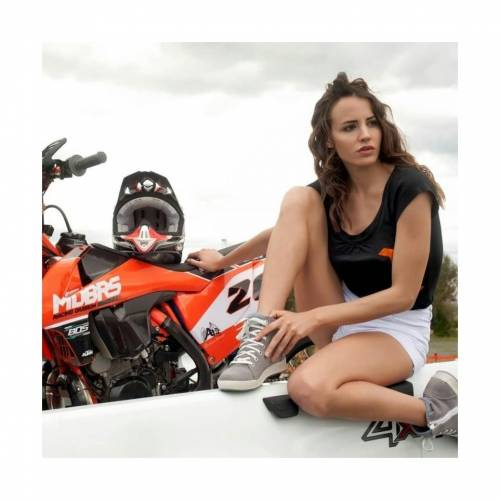 Ghete Moto Damă GAERNE VOYAGER POUDRE · Maro