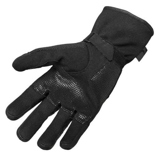 Mănuși Moto din Piele & Textil BERING TX09 · Negru