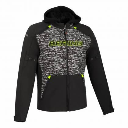 Geacă Moto din Textil BERING DRIFT CAMO · Negru / Verde