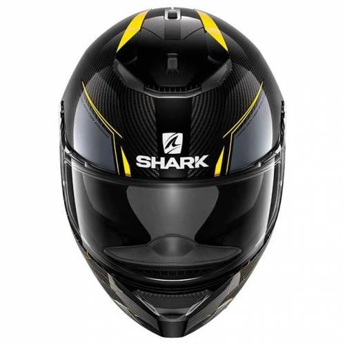 Cască Moto Integrală SHARK SPARTAN CARBON SILICIUM · Negru / Galben