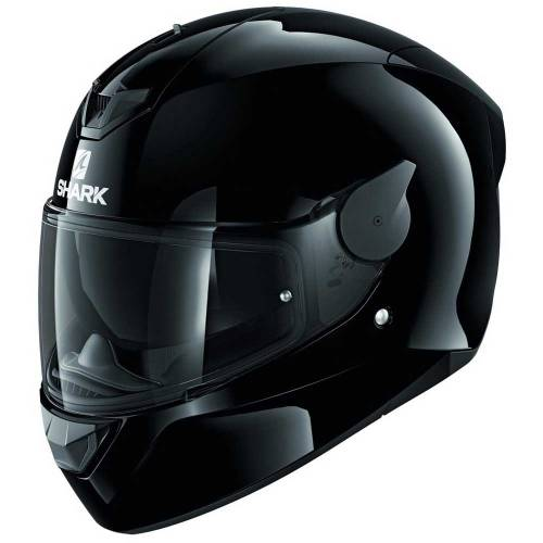 Cască Moto Integrală SHARK D-SKWAL 2 BLANK · Negru