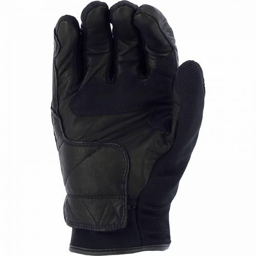 Mănuși Moto din Piele & Textil RICHA PROTECT · Negru