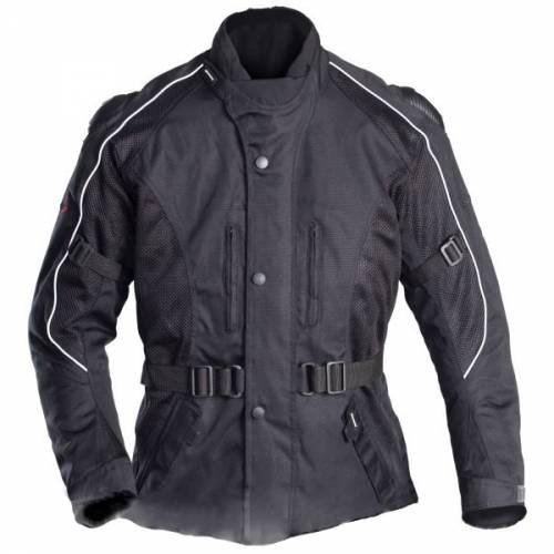 Geacă Moto din Textil SHOX NORDKAP Flow · Negru