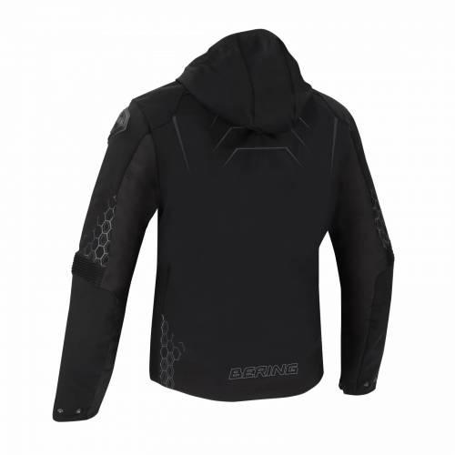 Geacă Moto din Textil BERING BALKO · Negru / Gri